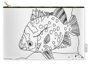 Fish And Rock Carry-all Pouch