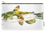Fish Art Catfish Carry-all Pouch