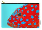 Fish Art - Strawberry Grouper Carry-all Pouch