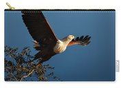 Fish Eagle Taking Flight Carry-all Pouch