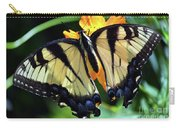 Fish Eye Butterfly Carry-all Pouch
