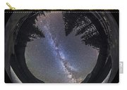 Fish-eye Lens Panorama Of Milky Way Carry-all Pouch