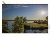Fish Hook Lake Morning Carry-all Pouch