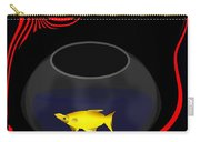 Fish In A Bowl Carry-all Pouch