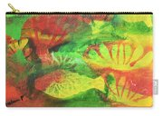 Fish In Green Carry-all Pouch