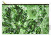 Fish In Green Mosaic 2 Carry-all Pouch