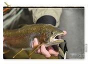 Fish In Hand Carry-all Pouch
