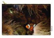 Fish In Sea Anemones Aquarium Carry-all Pouch