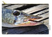 Fish Mouth Carry-all Pouch
