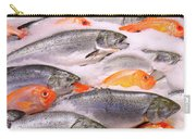Fish On Ice Carry-all Pouch