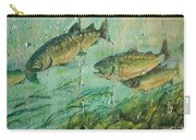 Fish On The Wall 2 Carry-all Pouch