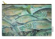 Fish On The Wall Carry-all Pouch