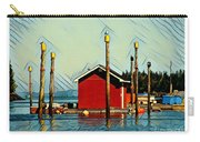 Fish Shack, Campobello Carry-all Pouch