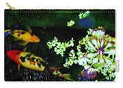 Fish Water Flowers 3 Carry-all Pouch
