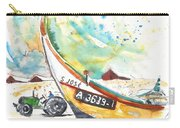Fisherboat In Praia De Mira Carry-all Pouch