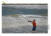 Fisherman And The Sea Carry-all Pouch