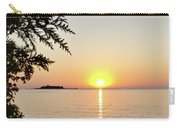 Fisherman's Island Sunset Carry-all Pouch