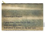 Fisherman's Prayer Carry-all Pouch