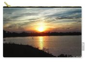 Fisherman's Sunset Horizon Carry-all Pouch