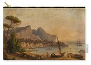 Fishermen At The Bay Carry-all Pouch