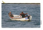 Fishermen In A Boat Carry-all Pouch