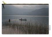 Fishermen On Lake Atitlan Carry-all Pouch
