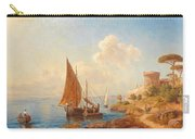 Fishermen On The Dalmatian Coast Carry-all Pouch