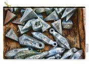 Fishing - Box Of Sinkers Carry-all Pouch