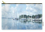 Fishing Bay Marina Carry-all Pouch