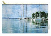 Fishing Bay Reflections Carry-all Pouch