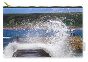 Fishing Beyond The Surf Carry-all Pouch by Terri Waters
