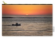 Fishing Boat At Sunrise. Carry-all Pouch