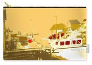 Fishing Boat At The Dock Carry-all Pouch