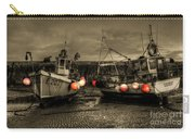 Fishing Boats At Lyme Regis Carry-all Pouch