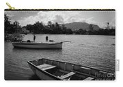 Fishing Boats In Mahebourg  Carry-all Pouch