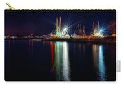 Fishing Boats In Marina At Night Carry-all Pouch