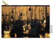 Fishing Boats Sunset Light Carry-all Pouch