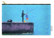 Fishing From The Pier Carry-all Pouch
