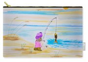 Fishing Girl Carry-all Pouch