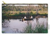 Fishing In The Bayou Carry-all Pouch