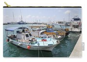 Fishing Industry In Limmasol Carry-all Pouch
