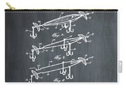 Fishing Lure Patent 1904 Chalk Carry-all Pouch