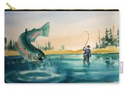 Fishing Montana Carry-all Pouch