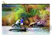 Fishing On Saguaro Lake In Arizona Carry-all Pouch