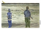 Fishing On The Beach Carry-all Pouch