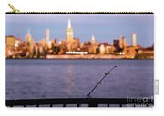 Fishing On The Hudson Carry-all Pouch