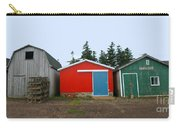Fishing Shacks  Prince Edward Island  Canada Carry-all Pouch