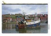 Fishing Trawler Wy 485 At Whitby Carry-all Pouch by Rod Johnson