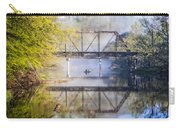Fishing Under The Trestle Carry-all Pouch