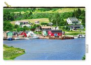 Fishing Village In Prince Edward Island Carry-all Pouch